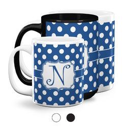 Polka Dots Coffee Mugs (Personalized)