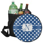 Polka Dots Collapsible Cooler & Seat (Personalized)