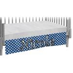 Polka Dots Crib Skirt (Personalized)