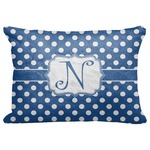 "Polka Dots Decorative Baby Pillowcase - 16""x12"" (Personalized)"
