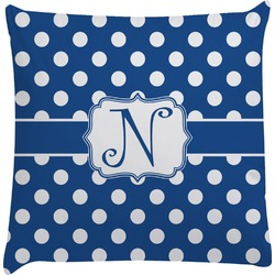 Polka Dots Decorative Pillow Case (Personalized)