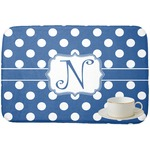 Polka Dots Dish Drying Mat (Personalized)
