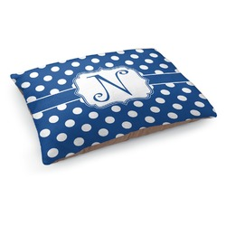 Polka Dots Dog Pillow Bed (Personalized)
