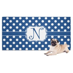 Polka Dots Dog Towel (Personalized)