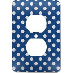 Polka Dots Electric Outlet Plate (Personalized)