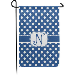 Polka Dots Garden Flag - Single or Double Sided (Personalized)