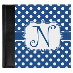 Polka Dots Genuine Leather Baby Memory Book (Personalized)