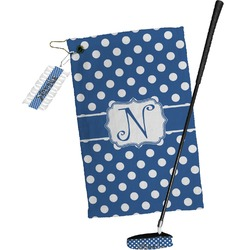 Polka Dots Golf Towel Gift Set (Personalized)