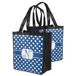 Polka Dots Grocery Bag (Personalized)