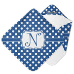 Polka Dots Hooded Baby Towel (Personalized)