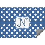 Polka Dots Indoor / Outdoor Rug (Personalized)