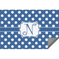Polka Dots Indoor / Outdoor Rug - 6'x9' (Personalized)