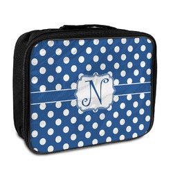 Polka Dots Insulated Lunch Bag (Personalized)