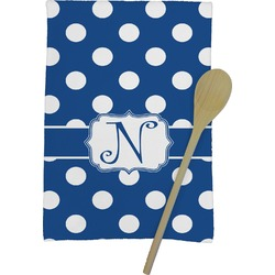 Polka Dots Kitchen Towel - Full Print (Personalized)