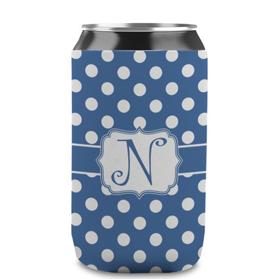 Polka Dots Can Sleeve (12 oz) (Personalized)
