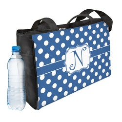 Polka Dots Ladies Workout Bag (Personalized)