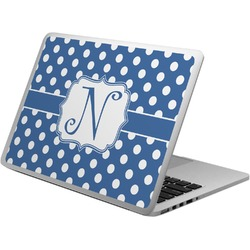 Polka Dots Laptop Skin - Custom Sized (Personalized)