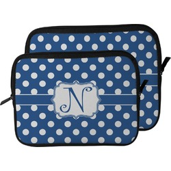 Polka Dots Laptop Sleeve / Case (Personalized)
