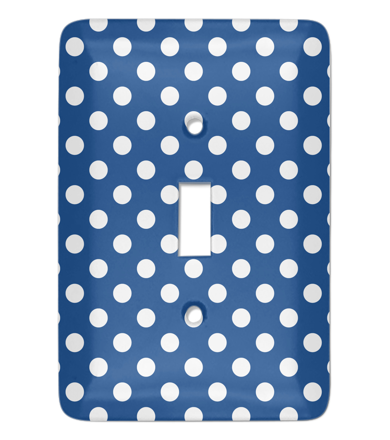 Polka Dots Light Switch Cover Single Toggle Personalized