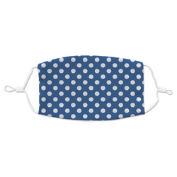 Polka Dots Adult Cloth Face Mask (Personalized)