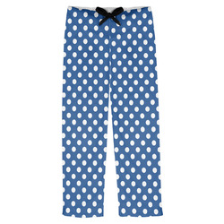 Polka Dots Mens Pajama Pants (Personalized)