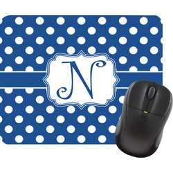 Polka Dots Mouse Pad (Personalized)