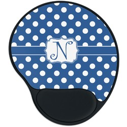 Polka Dots Mouse Pad with Wrist Support