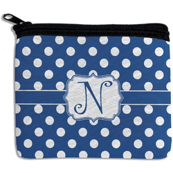Polka Dots Rectangular Coin Purse (Personalized)