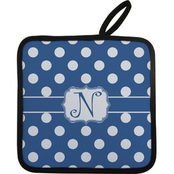 Polka Dots Pot Holder (Personalized)