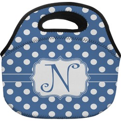 Polka Dots Lunch Bag (Personalized)