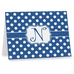 Polka Dots Note cards (Personalized)