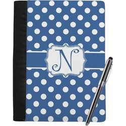 Polka Dots Notebook Padfolio (Personalized)