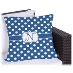 Polka Dots Outdoor Pillow (Personalized)