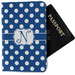Polka Dots Passport Holder - Fabric (Personalized)