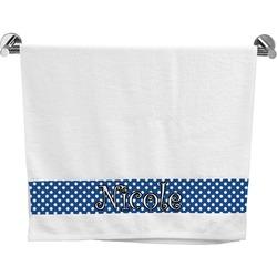 Polka Dots Bath Towel (Personalized)