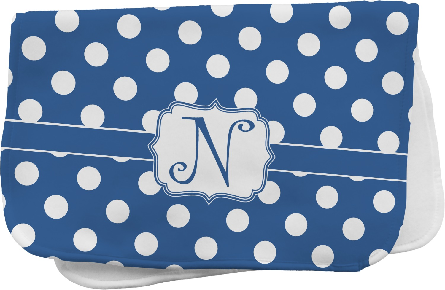Polka Dots Burp Cloth Personalized Youcustomizeit