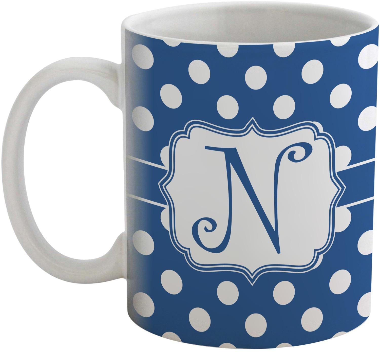 Polka Dots Coffee Mug Personalized Youcustomizeit