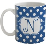 Polka Dots Coffee Mug (Personalized)