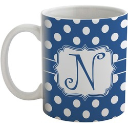Polka Dots Coffee Mug (Personalized)