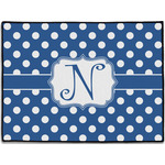 Polka Dots Door Mat (Personalized)