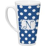 Polka Dots Latte Mug (Personalized)