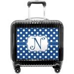 Polka Dots Pilot / Flight Suitcase (Personalized)