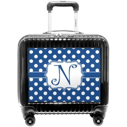 Polka Dots Pilot / Flight Suitcase (Personalized)