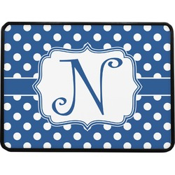 Polka Dots Rectangular Trailer Hitch Cover (Personalized)