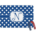 Polka Dots Rectangular Fridge Magnet (Personalized)