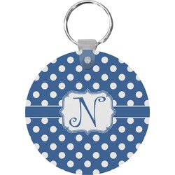 Polka Dots Keychains - FRP (Personalized)