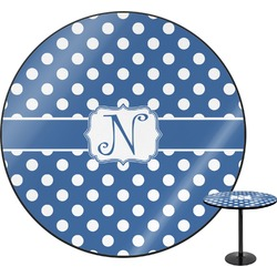 Polka Dots Round Table (Personalized)