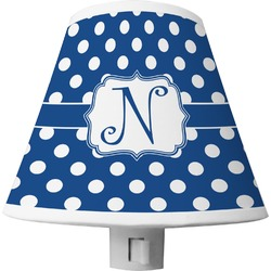 Polka Dots Shade Night Light (Personalized)