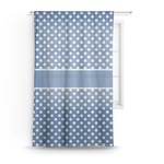 Polka Dots Sheer Curtains (Personalized)