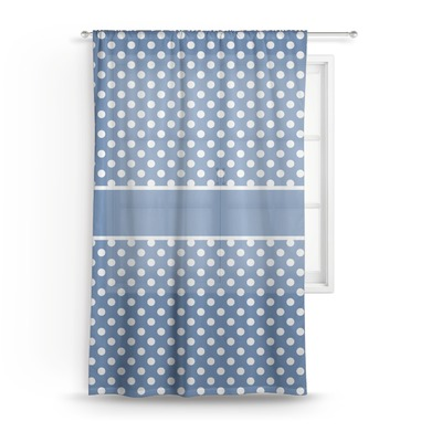Polka Dots Sheer Curtains (Personalized)